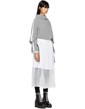 photo Grey Sport Knit Dress by Sacai - Image 2