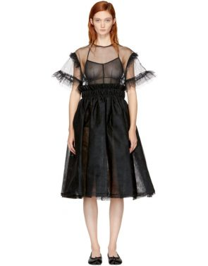 photo Black Tulle Dress by Noir Kei Ninomiya - Image 1