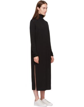 photo Black Cabrol Turtleneck Dress by Toteme - Image 2