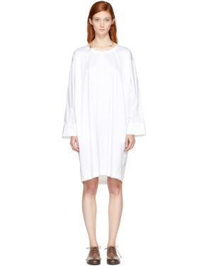 photo White Deron T-Shirt Dress by Nehera - Image 1