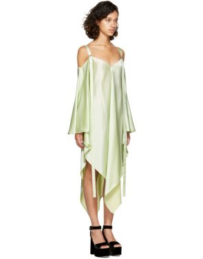 photo Mint Phoebe Off-the-Shoulder Dress by Sies Marjan - Image 2