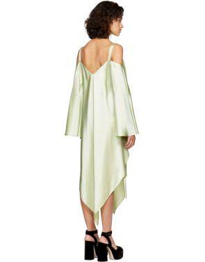 photo Mint Phoebe Off-the-Shoulder Dress by Sies Marjan - Image 3