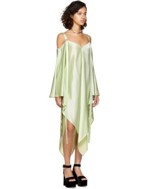 photo Mint Phoebe Off-the-Shoulder Dress by Sies Marjan - Image 4