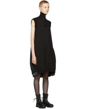 photo Black Forma Dress by Ovelia Transtoto - Image 2