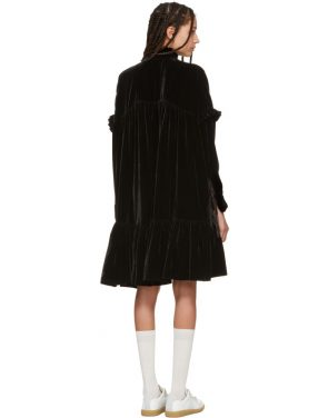 photo Black Velvet Nana Dress by Cecilie Bahnsen - Image 3