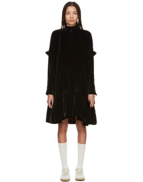 photo Black Velvet Nana Dress by Cecilie Bahnsen - Image 1