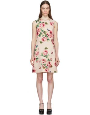 photo Pink Rose Dress by Dolce and Gabbana - Image 1