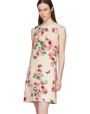 photo Pink Rose Dress by Dolce and Gabbana - Image 4
