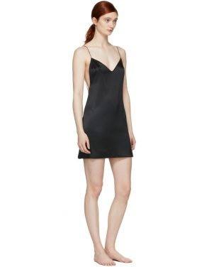 photo Black Open Back Slip Dress by Kiki de Montparnasse - Image 4