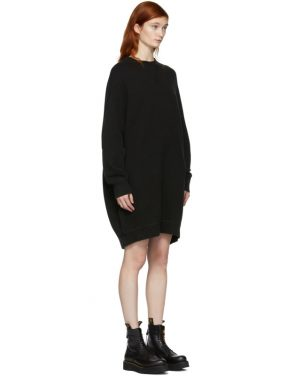 photo Black Grunge Sweatshirt Dress by R13 - Image 2
