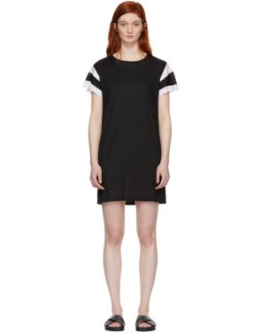 photo Black Penny T-Shirt Dress by Rag and Bone - Image 1