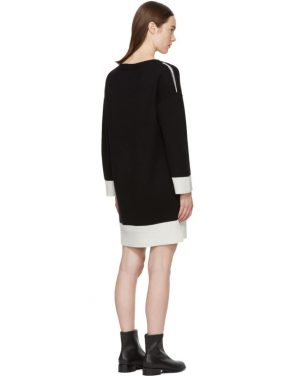 photo Black Cashmere Aubree Dress by Rag and Bone - Image 3