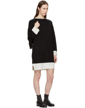 photo Black Cashmere Aubree Dress by Rag and Bone - Image 4
