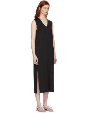 photo Black Phoenix V-Neck Dress by Rag and Bone - Image 2