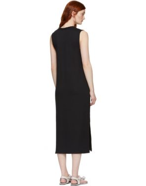 photo Black Phoenix V-Neck Dress by Rag and Bone - Image 3