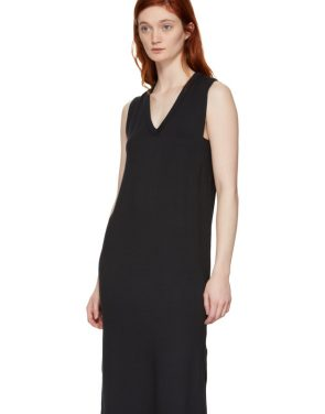 photo Black Phoenix V-Neck Dress by Rag and Bone - Image 4