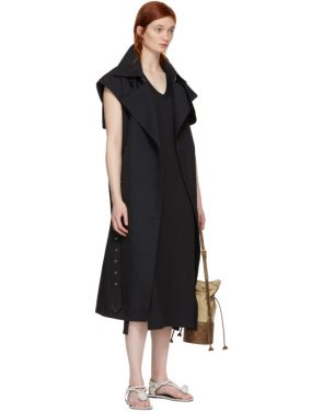 photo Black Phoenix V-Neck Dress by Rag and Bone - Image 5