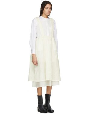 photo Off-White Layered Pinafore Dress by Renli Su - Image 2