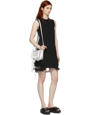 photo Black Hybrid Goth Mini Dress by McQ Alexander McQueen - Image 5