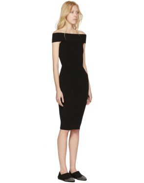 photo Black Bandeau Off-the-Shoulder Dress by McQ Alexander McQueen - Image 2