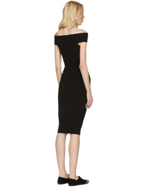 photo Black Bandeau Off-the-Shoulder Dress by McQ Alexander McQueen - Image 3