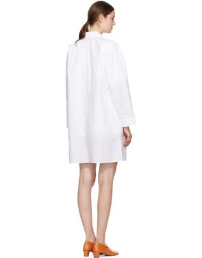 photo White Jacui Shirt Dress by Acne Studios - Image 3