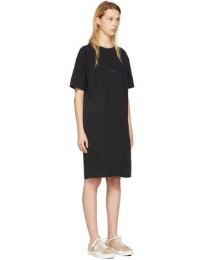 photo Black Joupa T-Shirt Dress by Acne Studios - Image 2