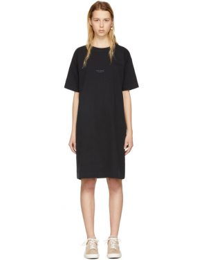 photo Black Joupa T-Shirt Dress by Acne Studios - Image 1