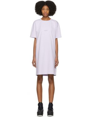photo Purple Joupa T-Shirt Dress by Acne Studios - Image 1