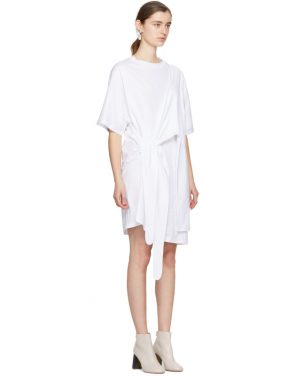 photo White Lylia T-Shirt Dress by Acne Studios - Image 2