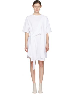 photo White Lylia T-Shirt Dress by Acne Studios - Image 1