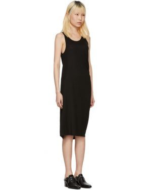 photo Black Takuhi Tencel Dress by Acne Studios - Image 2
