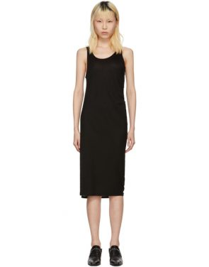 photo Black Takuhi Tencel Dress by Acne Studios - Image 1