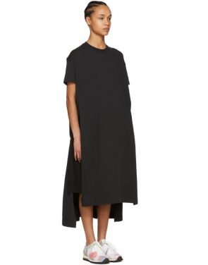 photo Black Patri T-Shirt Dress by Acne Studios - Image 2