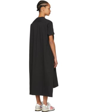 photo Black Patri T-Shirt Dress by Acne Studios - Image 3