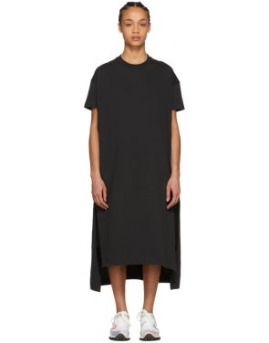 photo Black Patri T-Shirt Dress by Acne Studios - Image 1