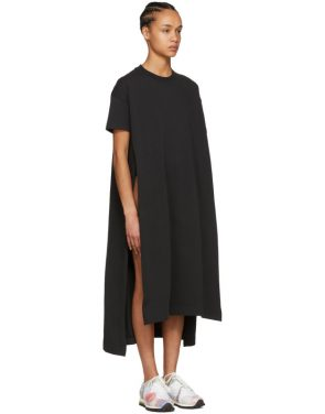 photo Black Patri T-Shirt Dress by Acne Studios - Image 4