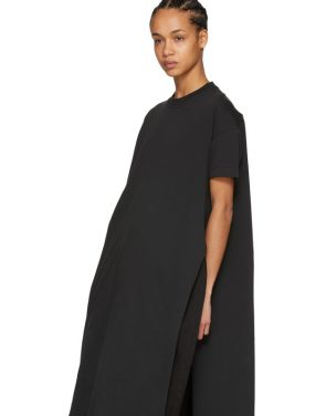 photo Black Patri T-Shirt Dress by Acne Studios - Image 5