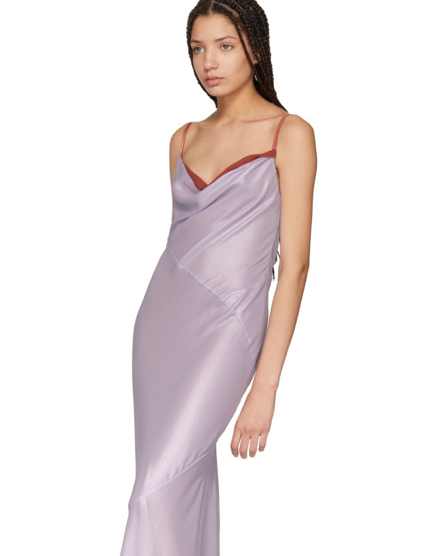 Cheap Sale Buy Purple Micelle Dress Acne Studios Eastbay Cheap Online Inexpensive Online 1JUZd18c