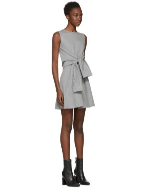 photo Grey Compact Jersey Dress by Dsquared2 - Image 2
