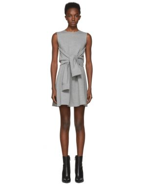 photo Grey Compact Jersey Dress by Dsquared2 - Image 1