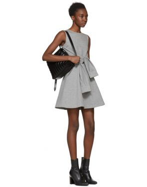 photo Grey Compact Jersey Dress by Dsquared2 - Image 4