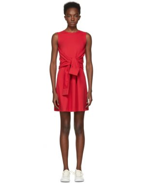 photo Red Compact Jersey Dress by Dsquared2 - Image 1