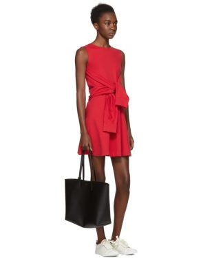 photo Red Compact Jersey Dress by Dsquared2 - Image 4
