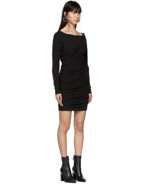 photo Black Constructed Corset Mini Dress by Alexander Wang - Image 2