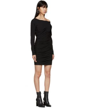 photo Black Constructed Corset Mini Dress by Alexander Wang - Image 4