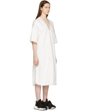photo Off-White Dyed Kimono Dress by MM6 Maison Martin Margiela - Image 2