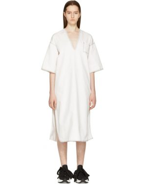 photo Off-White Dyed Kimono Dress by MM6 Maison Martin Margiela - Image 1