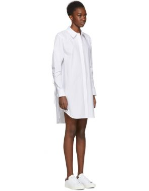 photo White Shirt Dress by T by Alexander Wang - Image 2