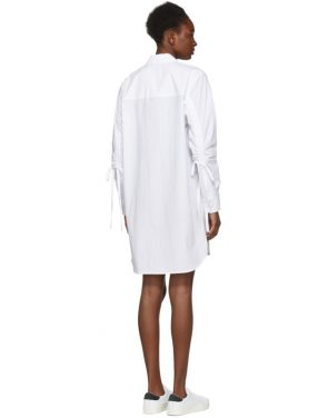 photo White Shirt Dress by T by Alexander Wang - Image 3